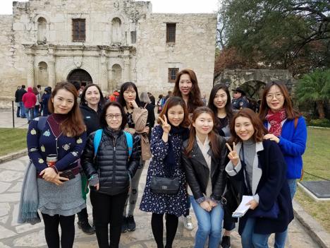 Group photo of KAEC 2018 program participants