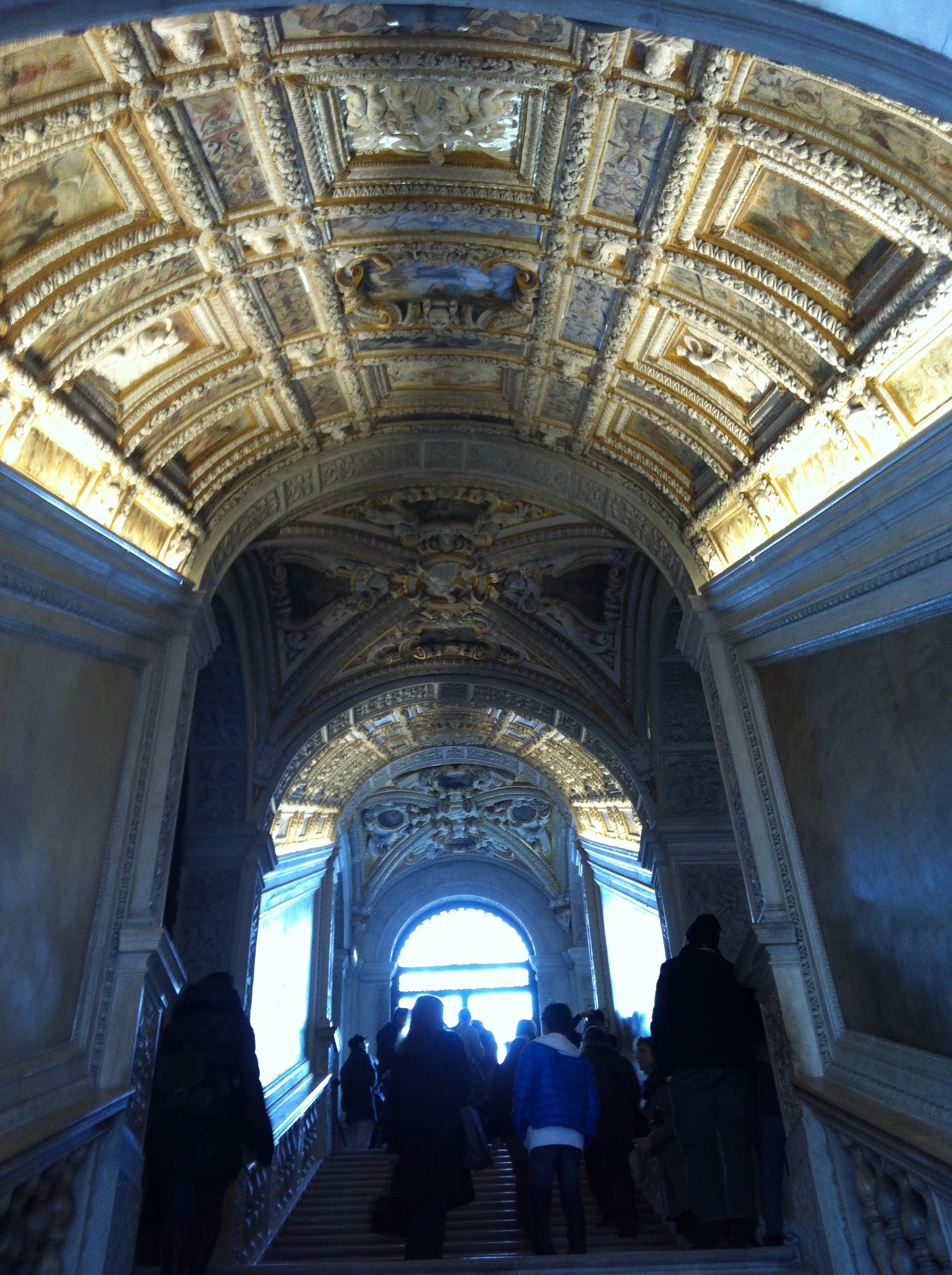 Golden Staircase in Doges Palace