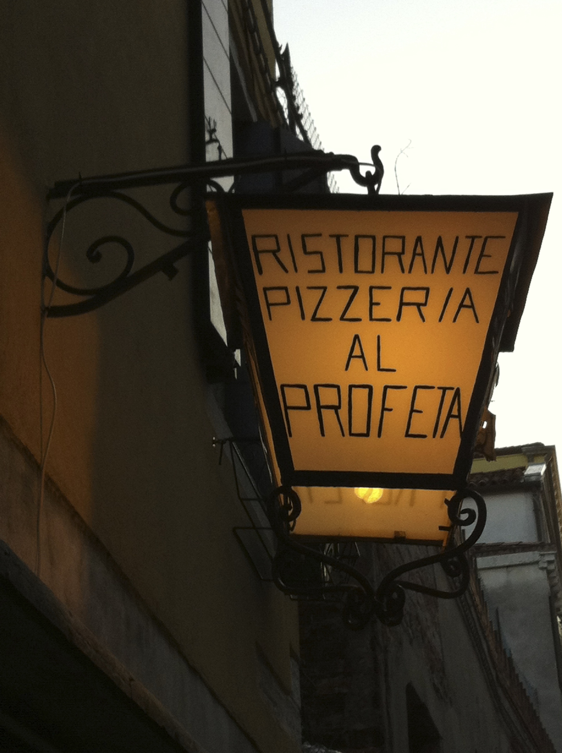 Our favorite restaurant in Venice. My favorite of our whole trip.