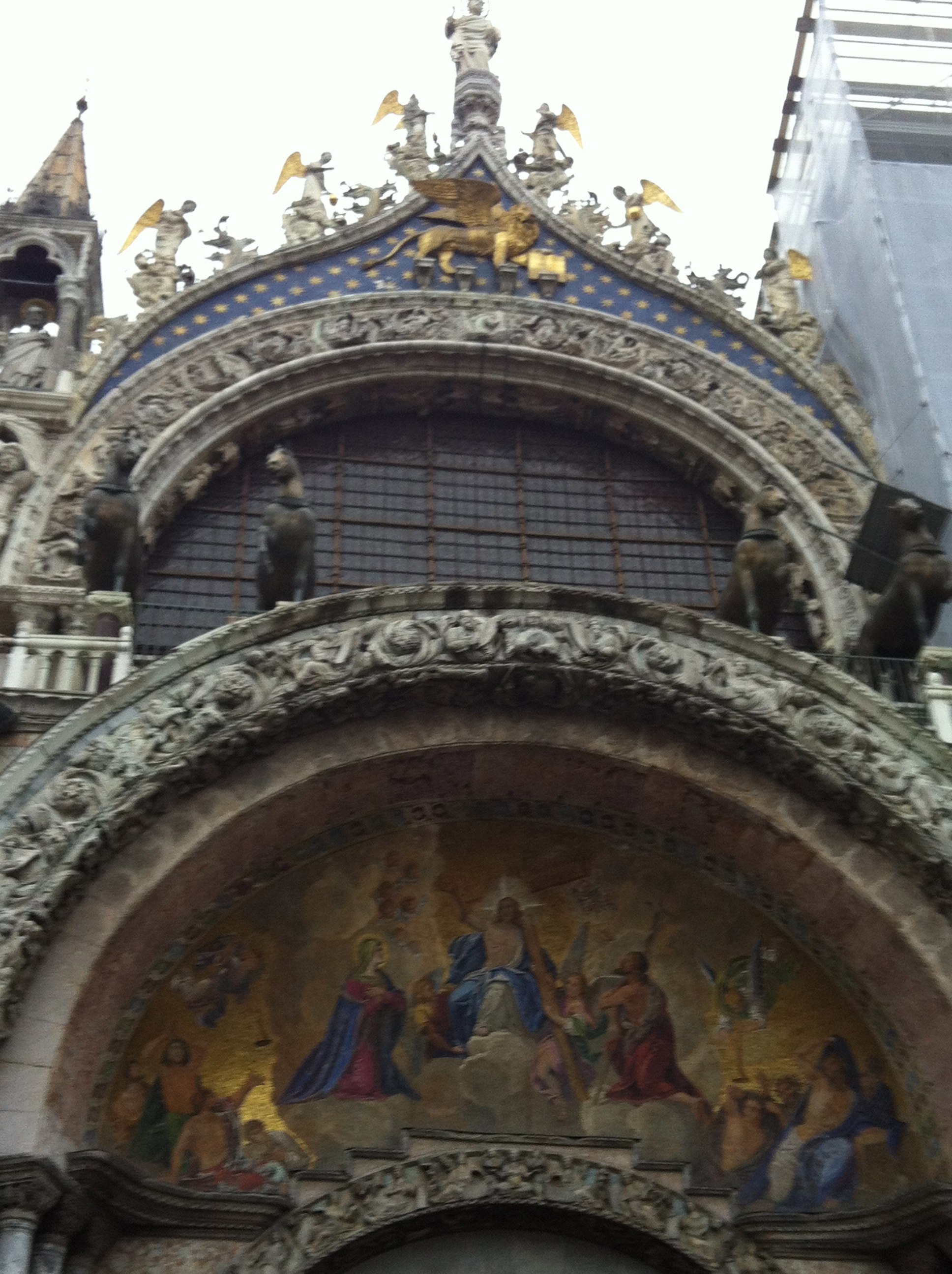 St. Mark's Basilica outside