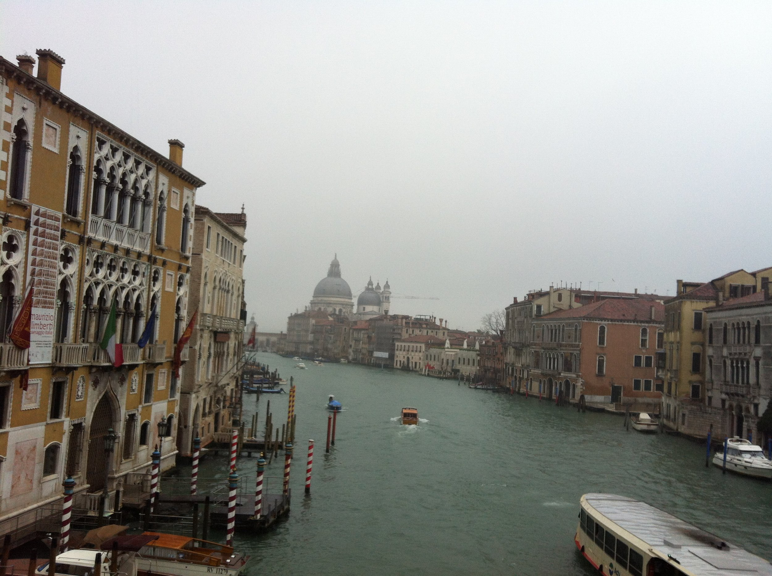 View of Grand Canal from Rialto