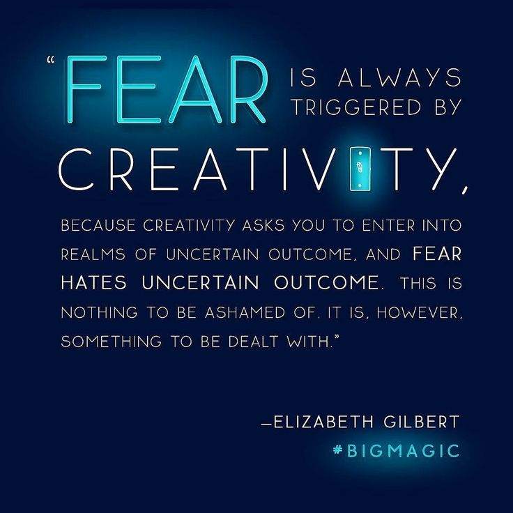 Liz Gilbert Fear and Creativity