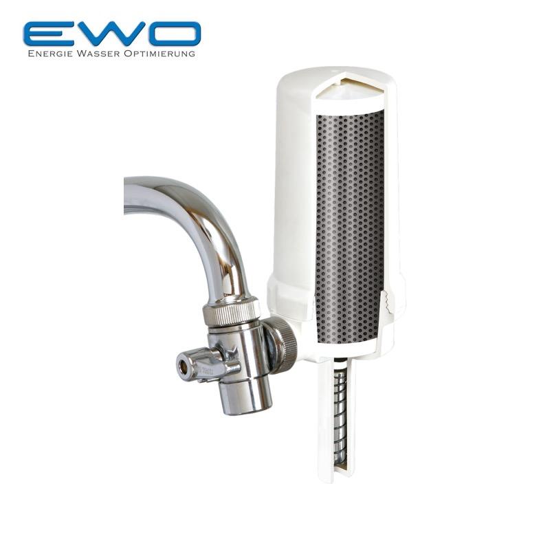 EWO Vital - S/. 599Mantenimiento anual S/. 350Sobre lavaderoFiltra hasta 100L por horainstalación fácil
