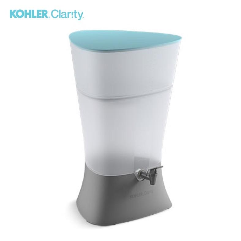 Kohler Clarity - S/. 249Mantenimiento anual S/. 52*Sobre lavaderoFiltra hasta 80L por diaInstalación fácil