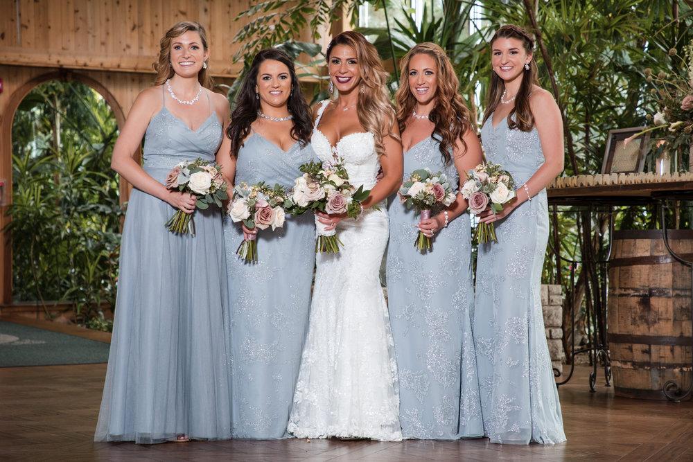 long island bridal party