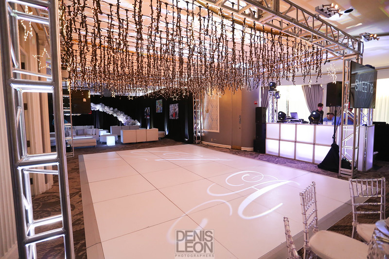 sweet 16 event design