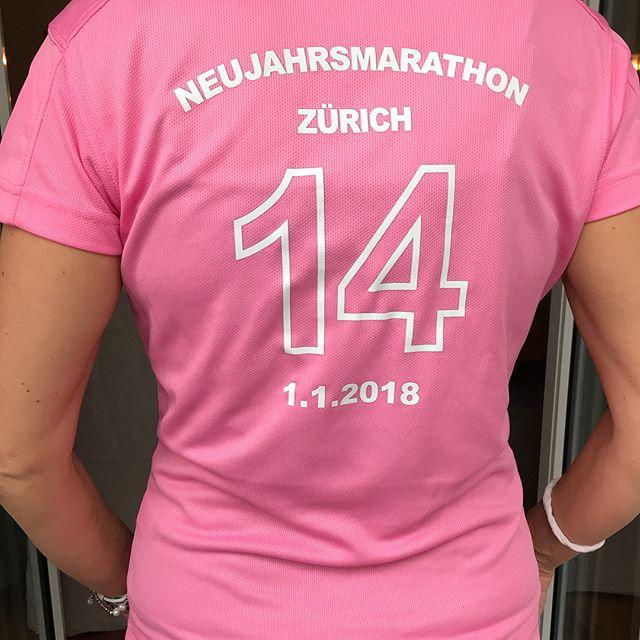 Die Finisher-Shirts sind da 😍 #latestshit #musthave #marathon #zurich