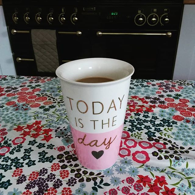 #todayistheday but first #coffee does anyone else feel like this on a Monday morning? #goals #inspiration #youcandoit #sucsess