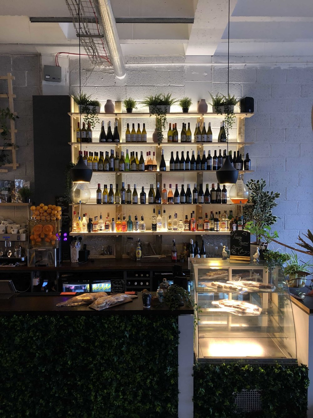 The White Goose Dundee Dock Street Back Bar