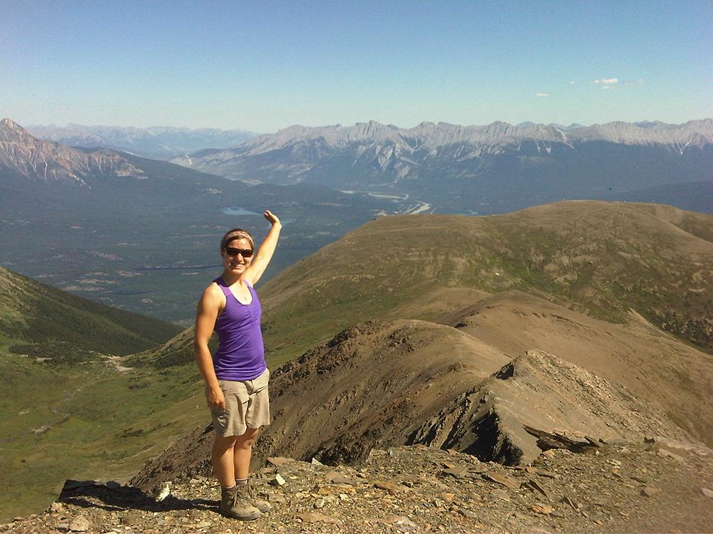 Jasper Hikes and Tours, Joy Proctor and Indian Ridge, Jasper, Alberta.