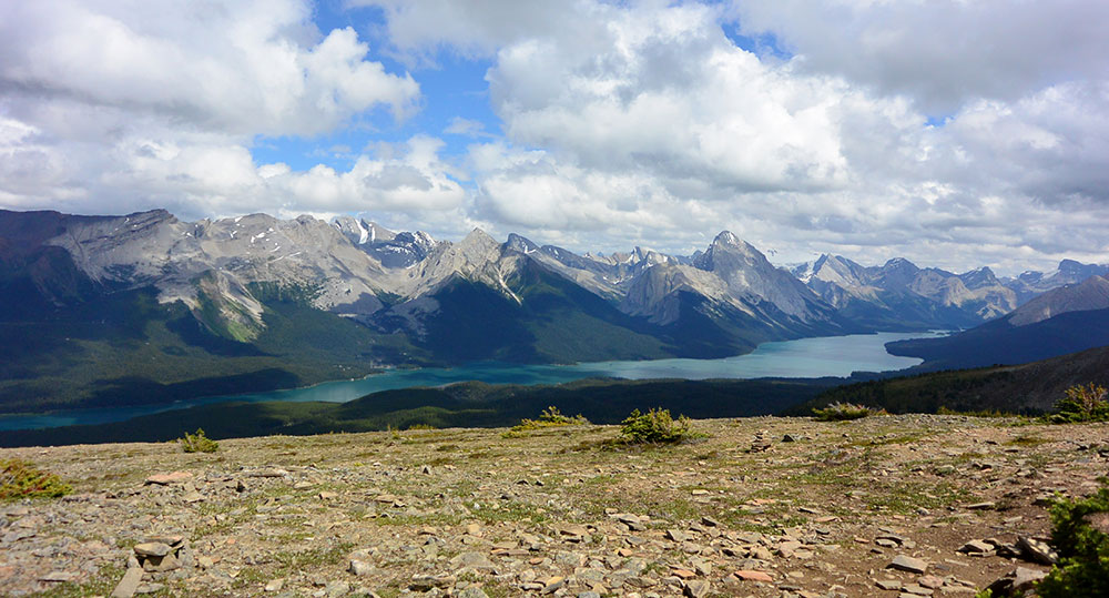 Jasper Hikes and Tours, Bald Hills, Jasper, Alberta.