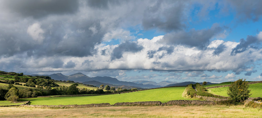Wednesday:  Lowick Common out towards the Furness Fells