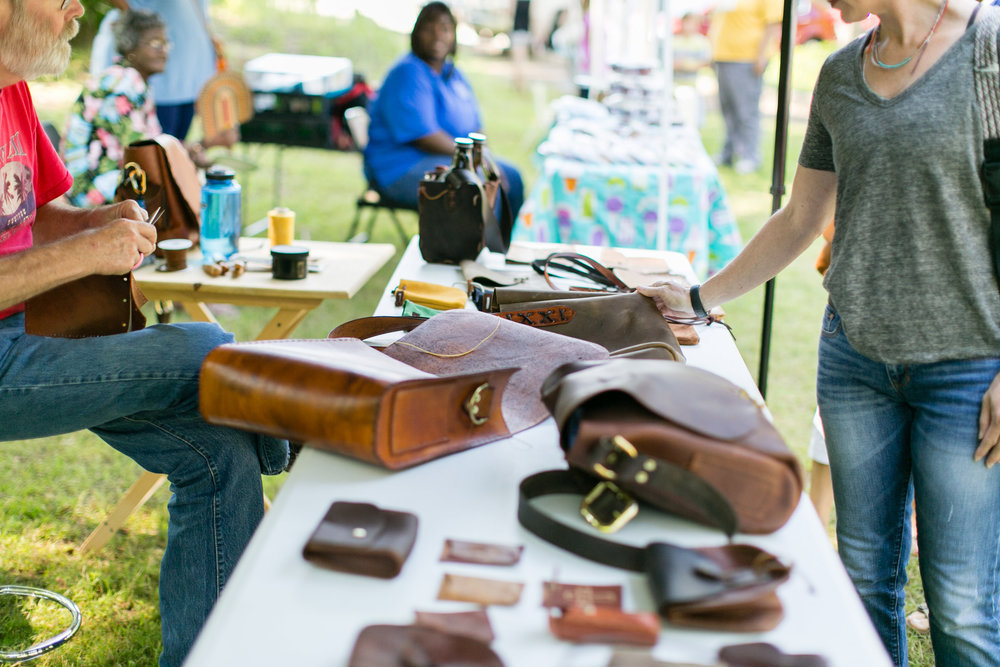 CarrollCraft LeatherWorks   Newnan, GA  Leather goods and embroidered work.