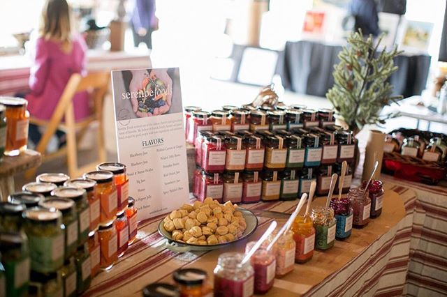 @serenbefoods' jams, jellies, butters and pickled veggies are made with a mixture of passion and local ingredients. Add these to your Christmas place settings when you shop local at the Holiday Bazaar. ⠀⠀⠀⠀⠀⠀⠀⠀⠀ ⠀⠀⠀⠀⠀⠀⠀⠀⠀ ⠀⠀⠀⠀⠀⠀⠀⠀⠀ • • • • ⠀⠀⠀⠀⠀⠀⠀⠀⠀ #serenbe #holidaybazaar #santa #holiday #christmas #gifts #shopping #local #artisans #makers