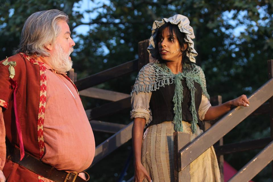 Mistress Quickly, Henry IV Part 1, Hip to Hip Theatre Company
