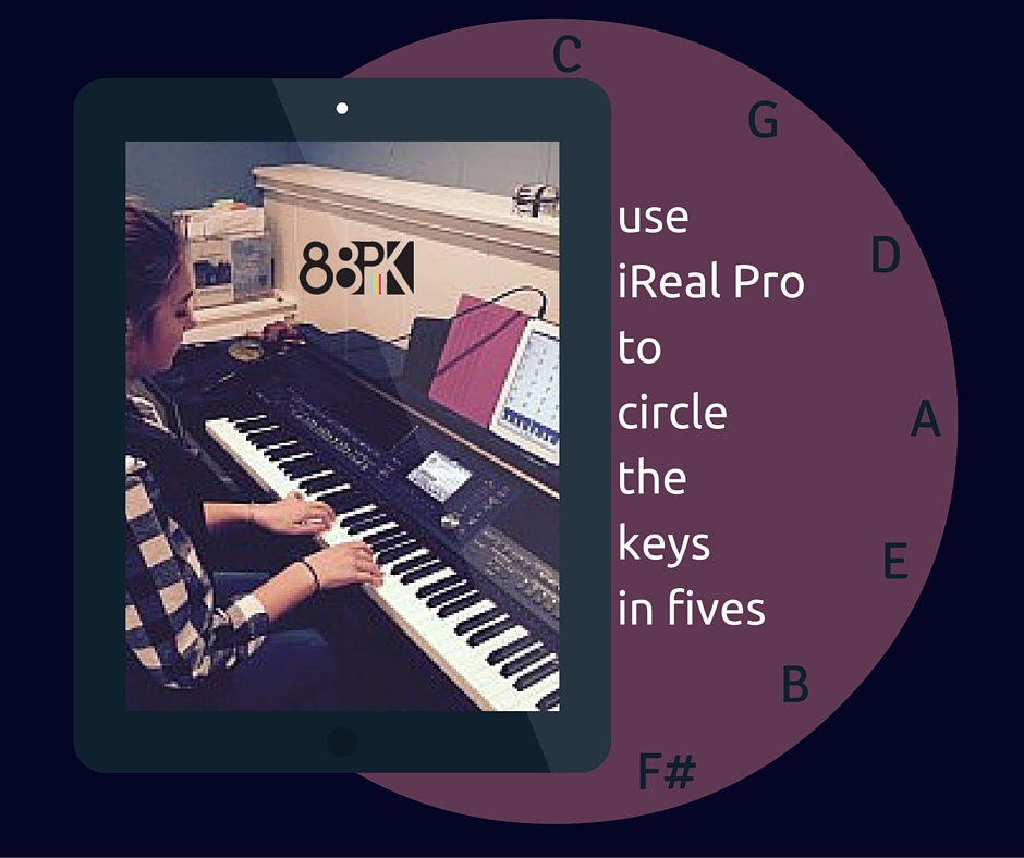 use iReal Proaround the circle of keys