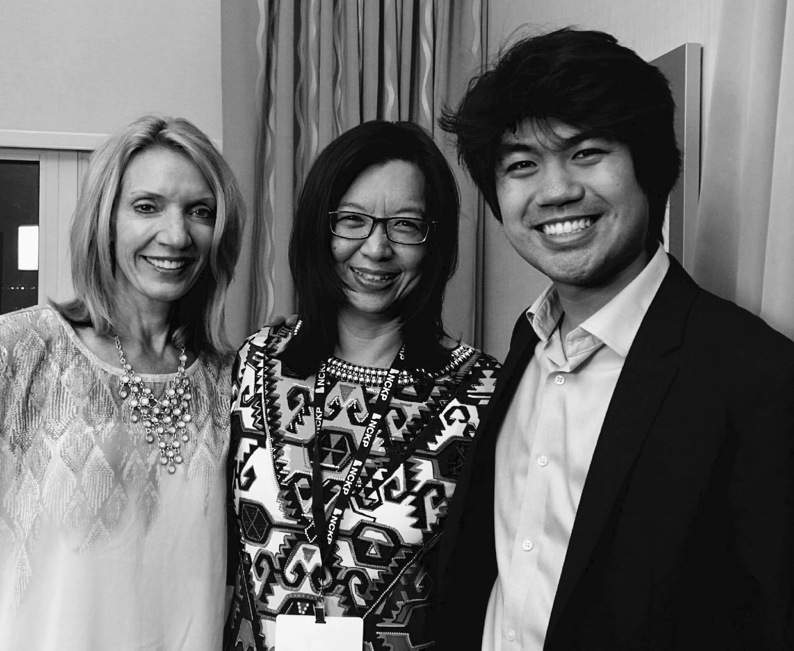 Chee-Hwa and I managed a pic with Sean Chen at NCKP 2015