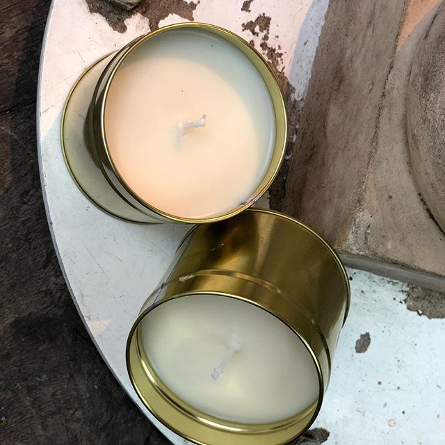 A gift from us: we dropped our prices for the tinned candles. Only 15£ per candle. Oh happy day!