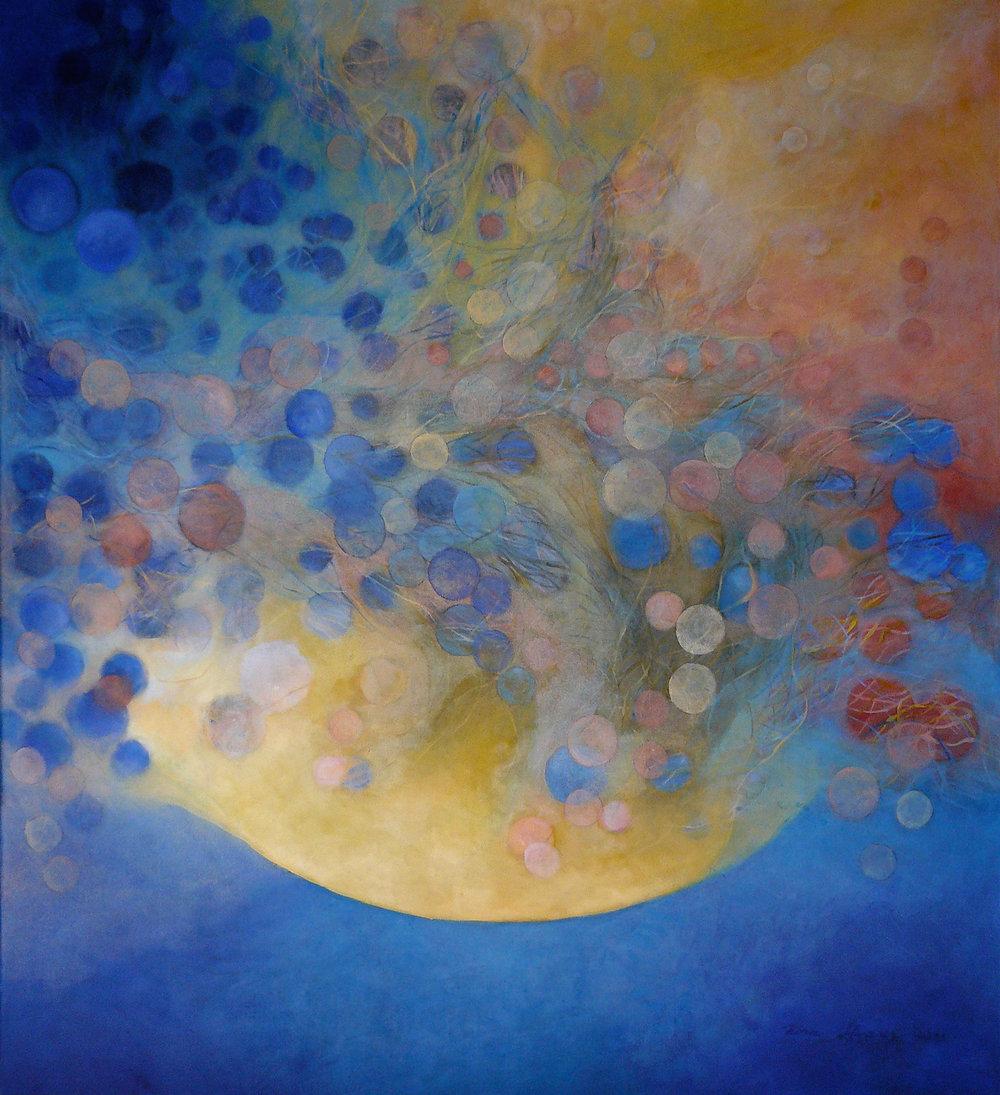Nostalgia de la luz - Óleo sobre tela - 110 x 100 cm