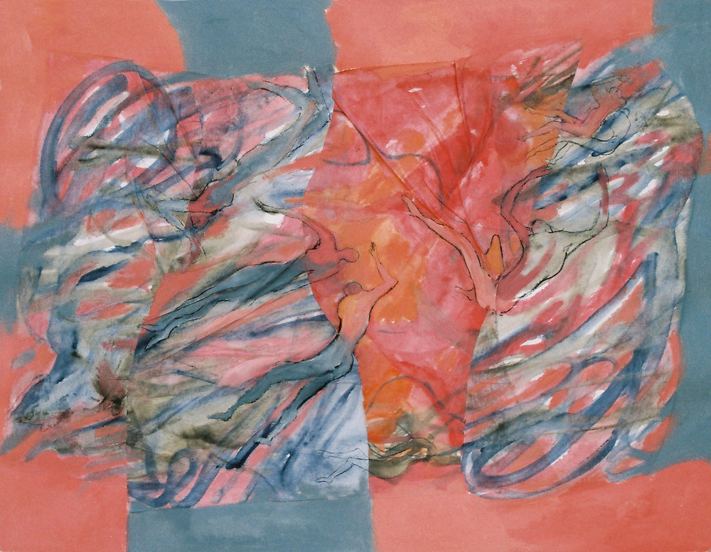 Disonancias y ambiguedades - Óleo sobre papel - 65 x 50 cm