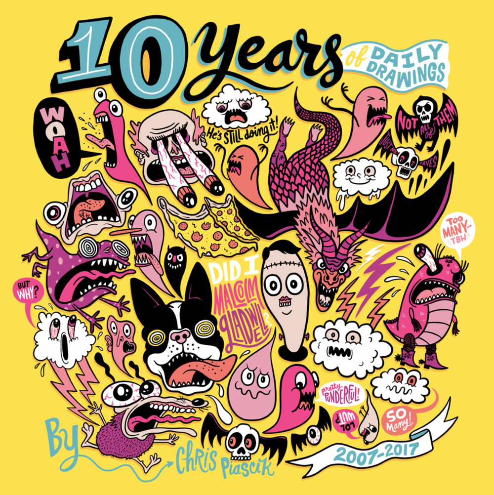 Book:  10 Years of Daily Drawings