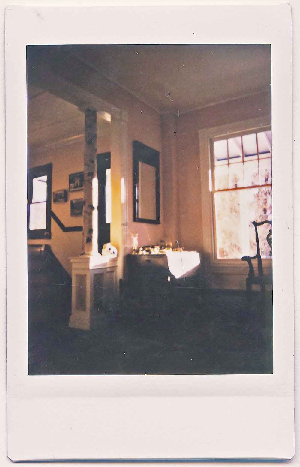 35 MM INSTAX - MILLERTON, NY - HUDSON VALLEY - WINTER 2017