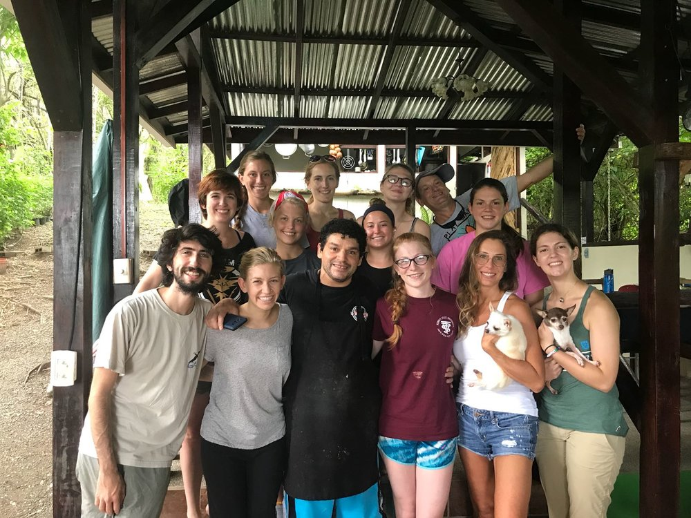 Wild Sun Volunteers Group Photo