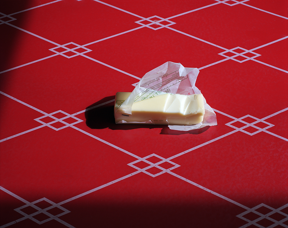 "8. Untitled (butter). Inkjet print. 20 X 16"". 2015."