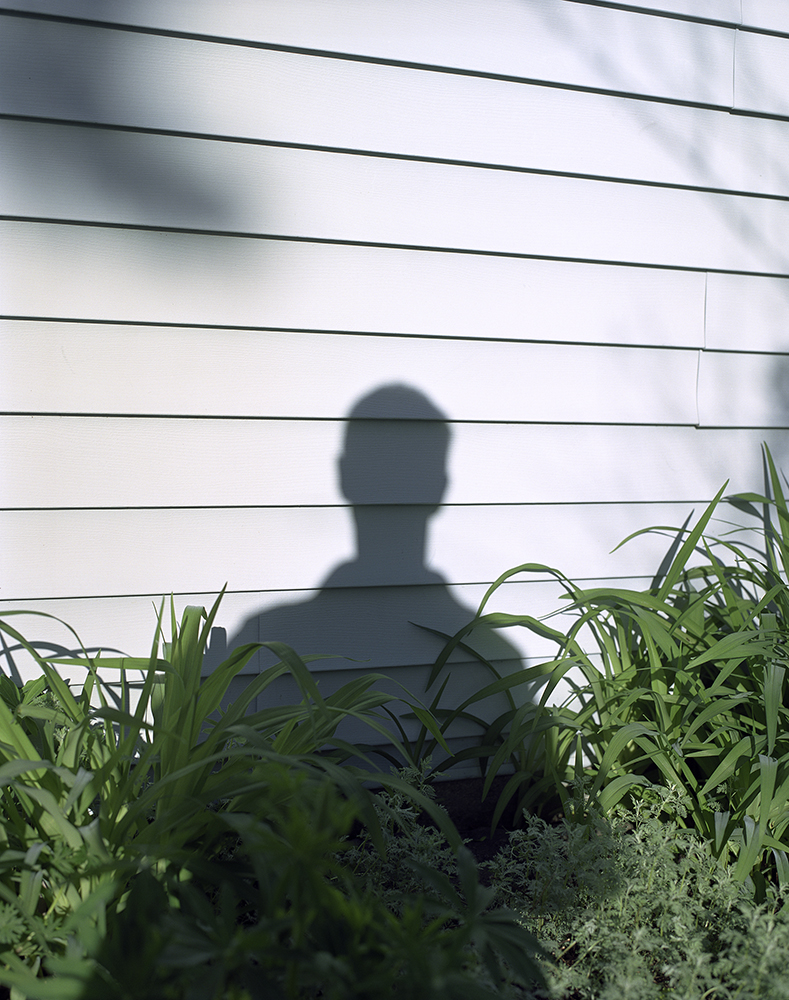 "51. Untitled (shadow and vinyl siding). Inkjet print. 16"" X 20"". 2014."