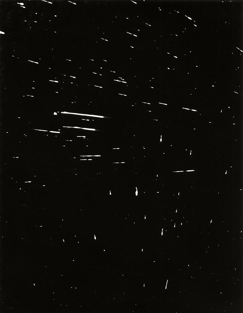 11. Untitled (spray 025). 2016. Photogram.
