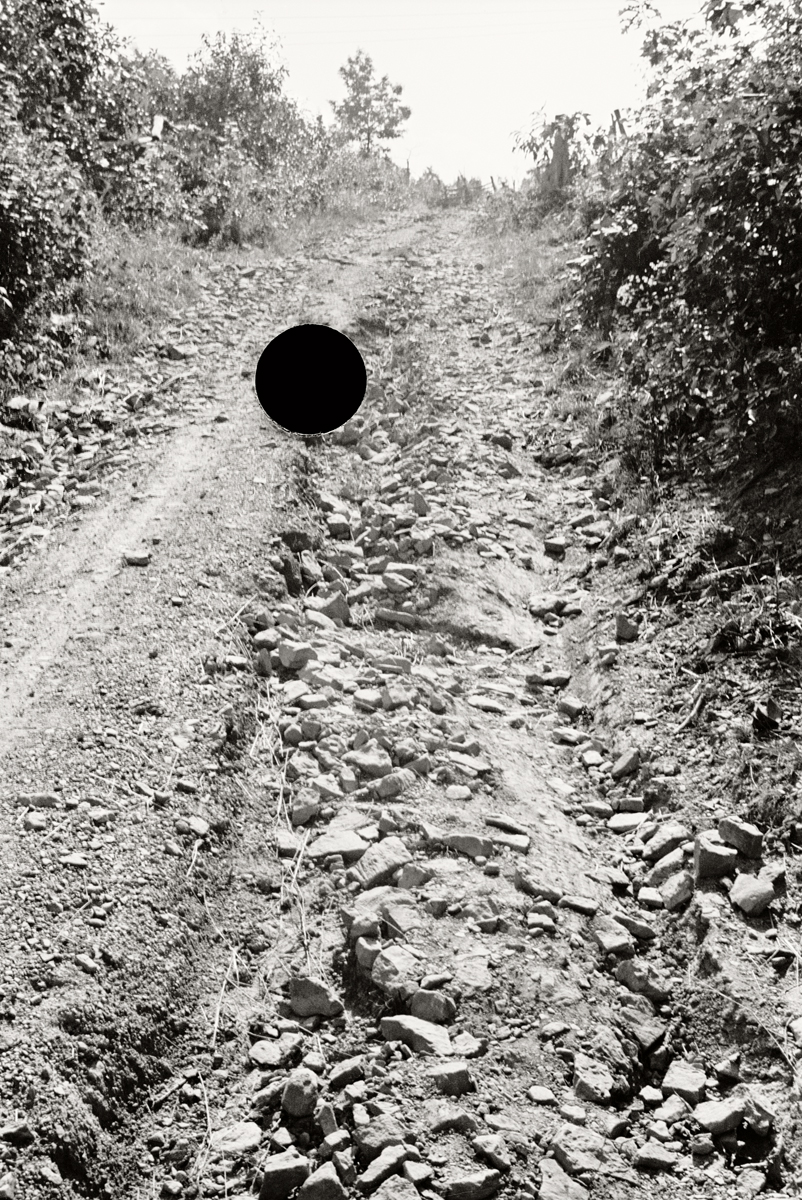 20. Bad road, Garrett County, Maryland. 1935. Theodor Jung. 8a13890.