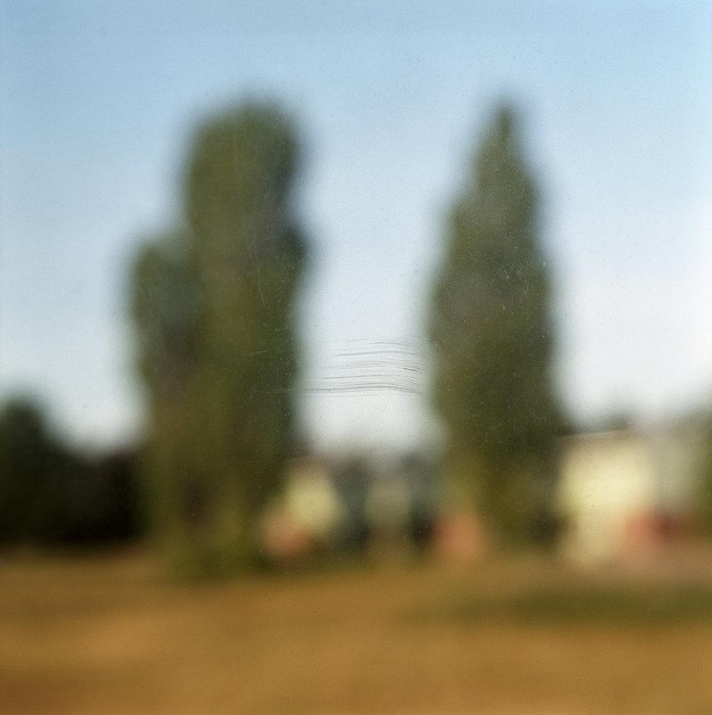 4. Untitled (Window Streak). 2005. Archival Pigment Print.