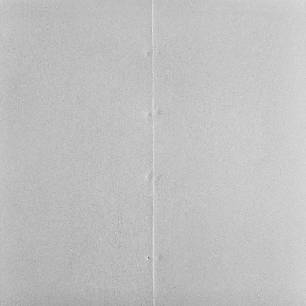 17. Wall Seam, Trudeau Sanatorium, Saranac Lake, NY. 1999. Toned Gelatin Silver Print.