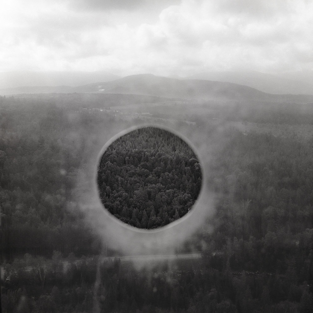 25. Observation Hole, Lake Placid, NY. 1999. Toned Gelatin Silver Print.