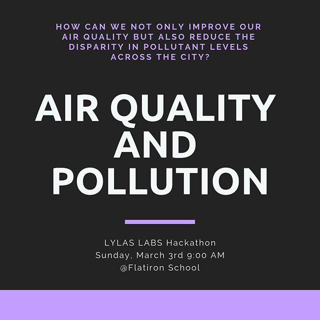 We're hacking environmental justice from 4 different perspectives. Zero waste will be led by experts from @staehere and the NYC Mayors Office of Sustainability 💪 #lylaslabs #lylas #nycopendata #nycopendataweek2019