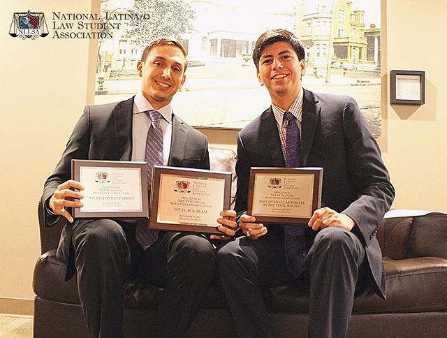 It's that time of year again ! NLLSA 2018 National Moot Court Registration is OPEN!! The 11th Annual NLLSA Moot Court Competition will take place over two days from October 4th – 5th, 2018! This is a picture of our last year Moot Court Winners!  Please visit www.nllsa.org/mootcourt to register  For inquiries, please contact the Attorney General, Carlos Lievano: Mootcourt@NLLSA.org #NLLSA #Latinos #MootCourt #Lawtinos