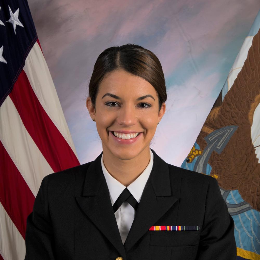 LT Melissa Rodriguez   Judge Advocate General's Corps, U.S. Navy