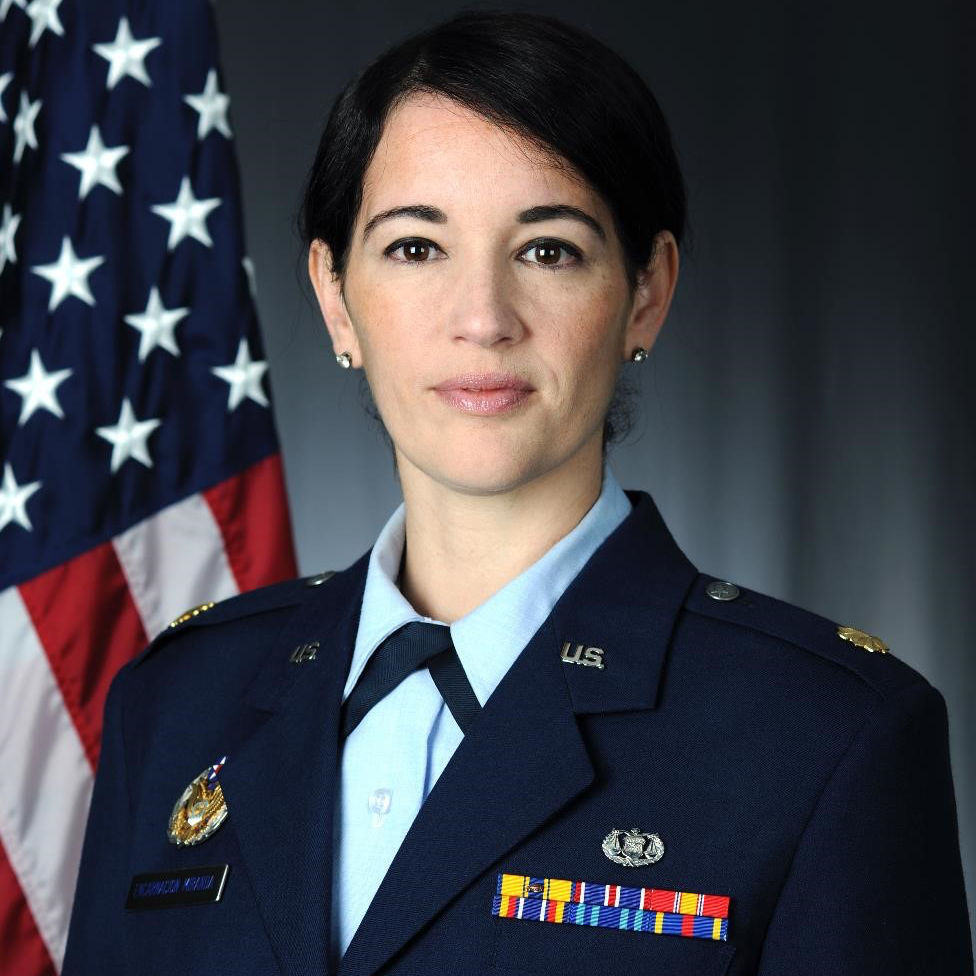 Maj Patricia Encarnacion Miranda   United States Air Force
