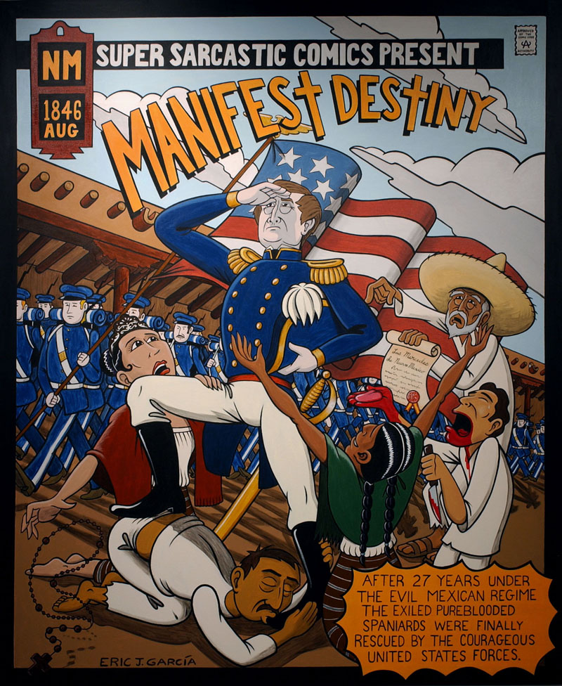 Manifest Destiny    Acrylic on canvas 6x5ft.jpg