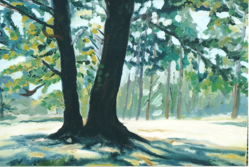 Happy Tree  Oil   15h  x   21w - Copy.jpg