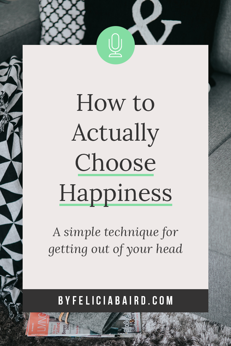 How to choose a technique