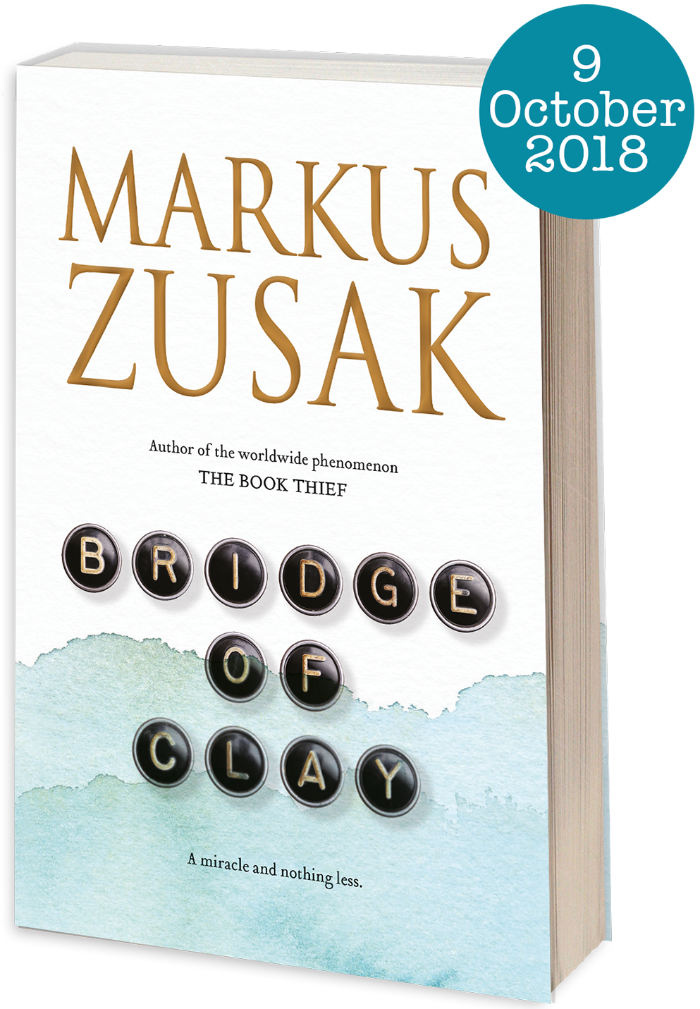 New book from Markus Zusak - Bridge of Clay - Hardcover - 9781743534816