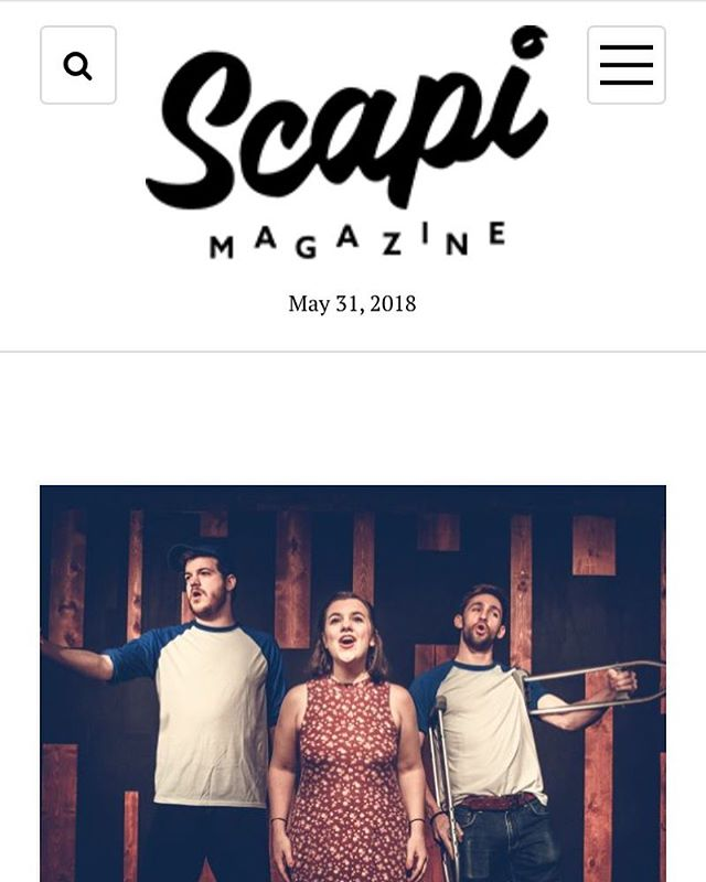 Great article about us on @scapimag today. Only 3 shows left in this run! Get your tickets now and DM for discounts. #7thinningstretch #chicagopress #chicagodiy #musicals #chicagocomedy #summervibes #otters
