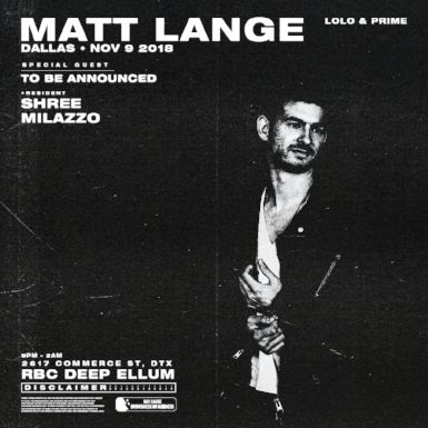 LOLO & PRIME - Matt Lange - RBC - Dallas