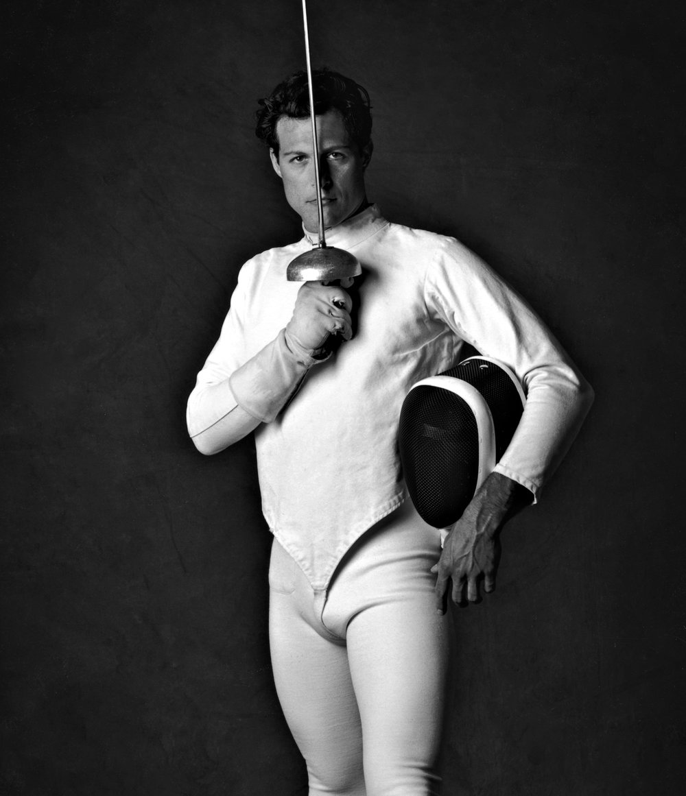 The Fencer. Model and Cinematographer Jesse Harris.