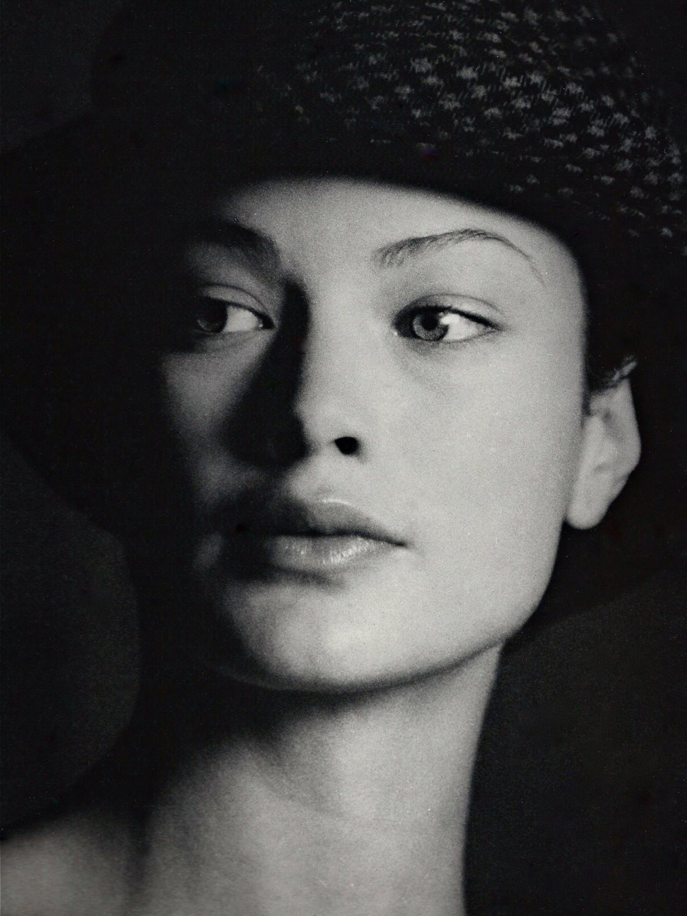 Model and actress Carolyn Murhpy.
