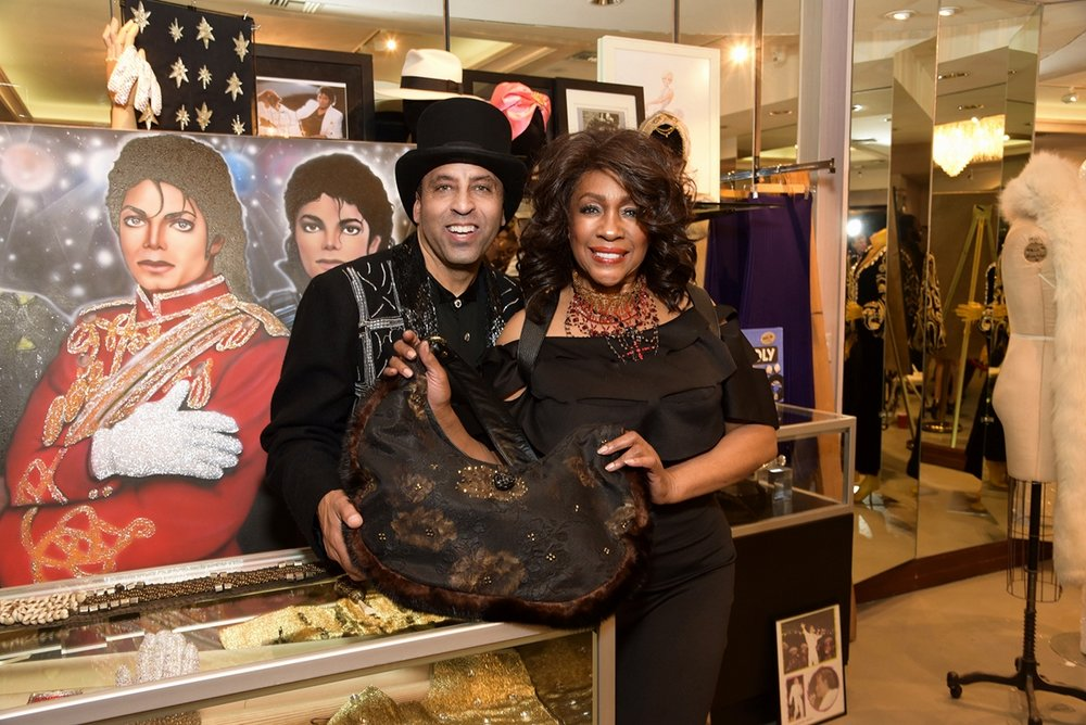 Sir Keith Holman and Mary Wilson present four decades of Hollywood and the Re-Fur-Bished Collection..