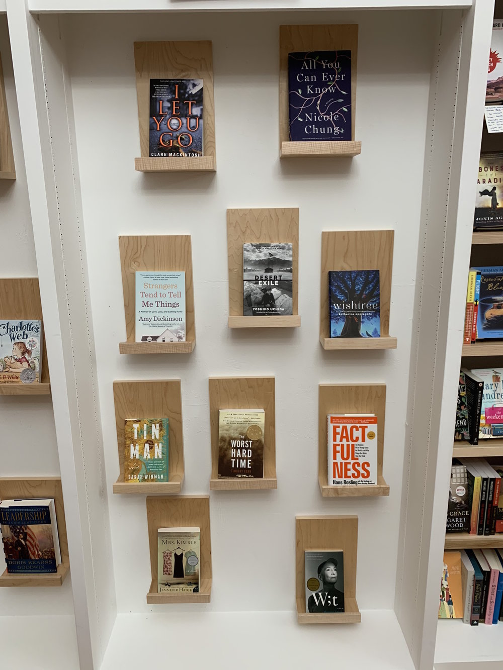 And a few titles that we're recommending for Marsha