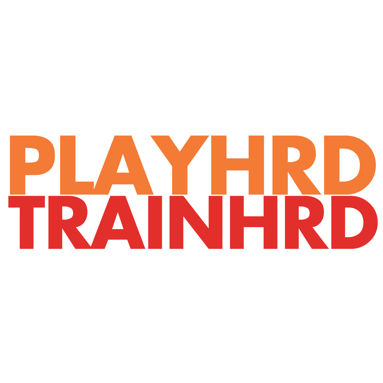PlayHrd TrainHrd