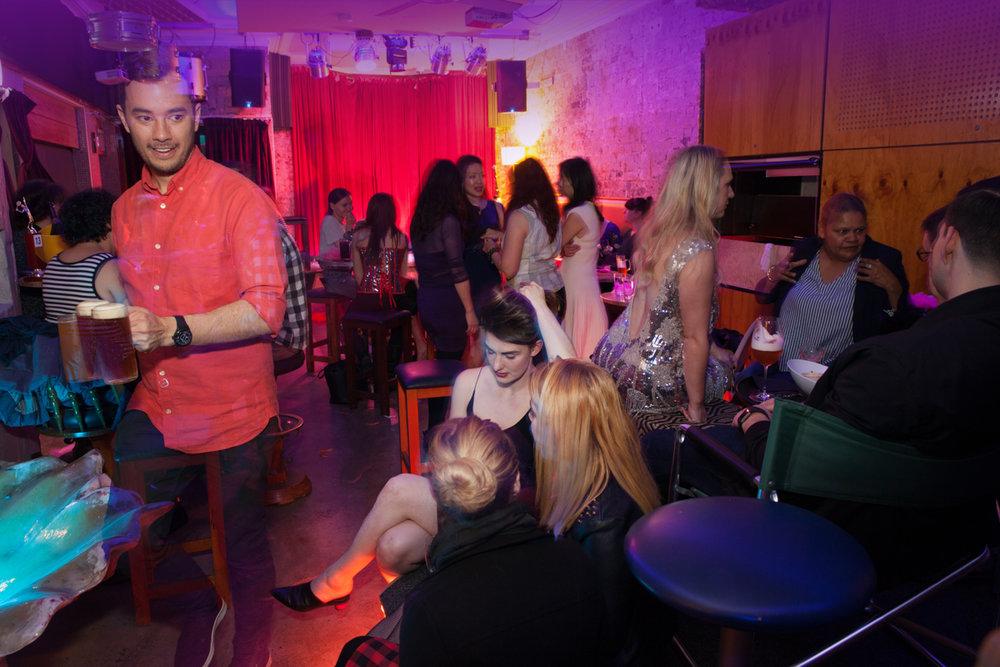 Burlesque Birthday Party